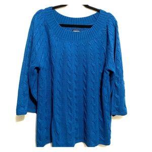 Avenue Women's plus size 22/24 sweater top